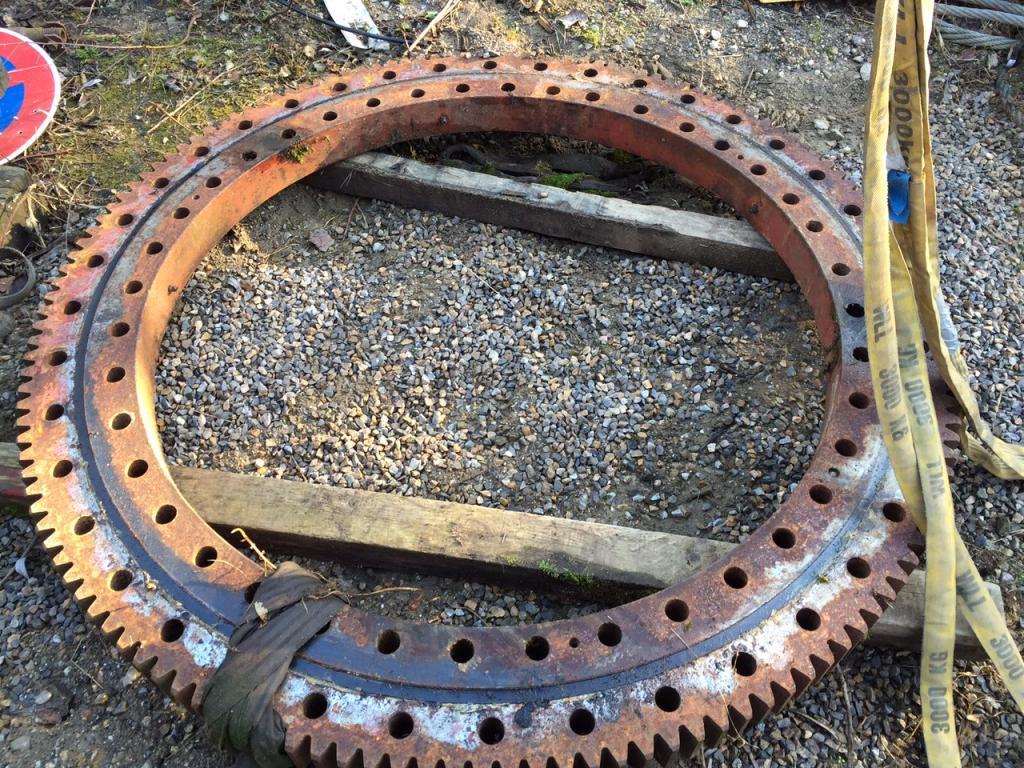 Krupp KMK 4070 kransväng ringar
