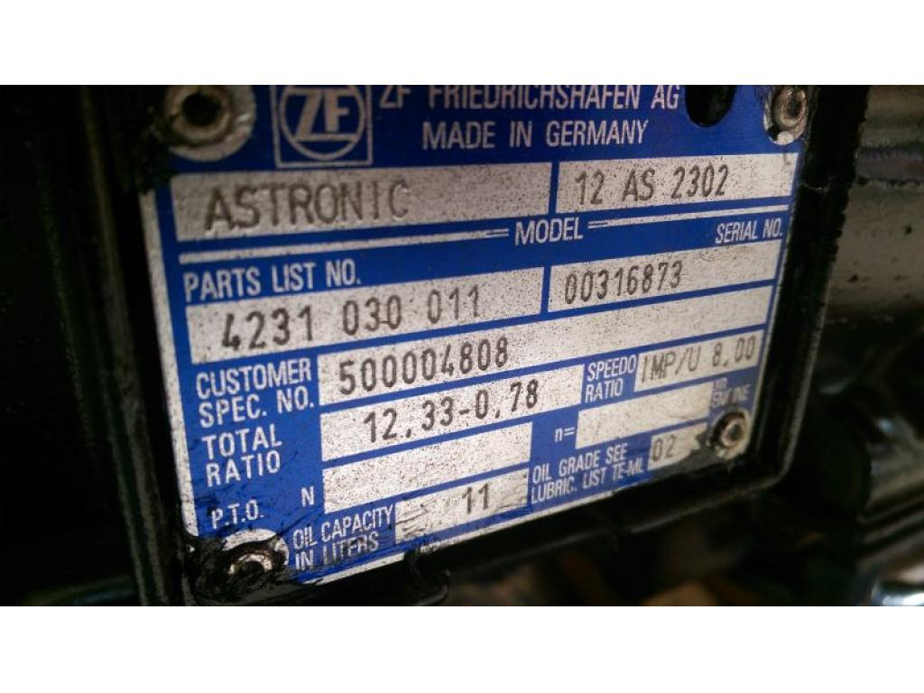 ZF Astronic 12 AS 2302 Cambio
