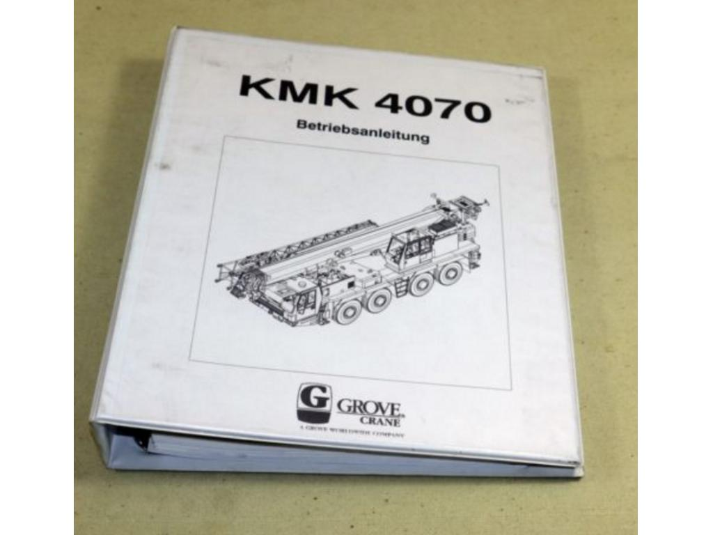 Krupp KMK 4070 Documentation