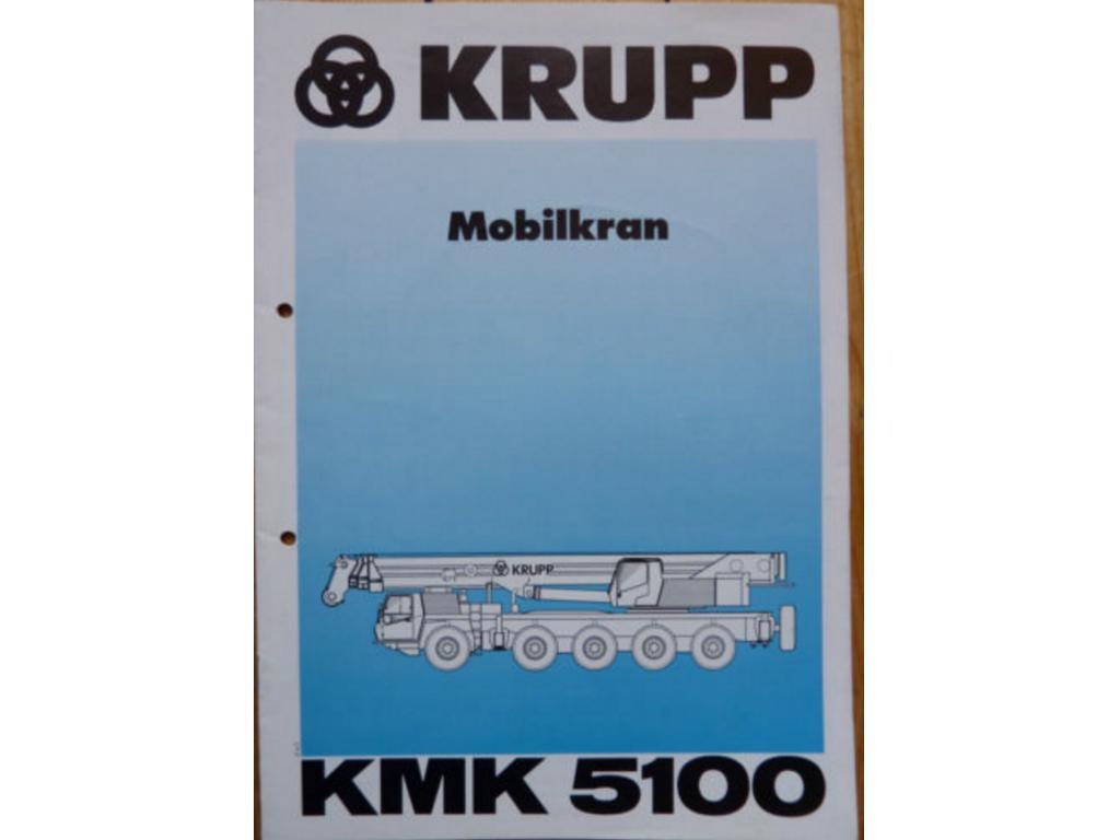 Krupp KMK 5100 Documentation