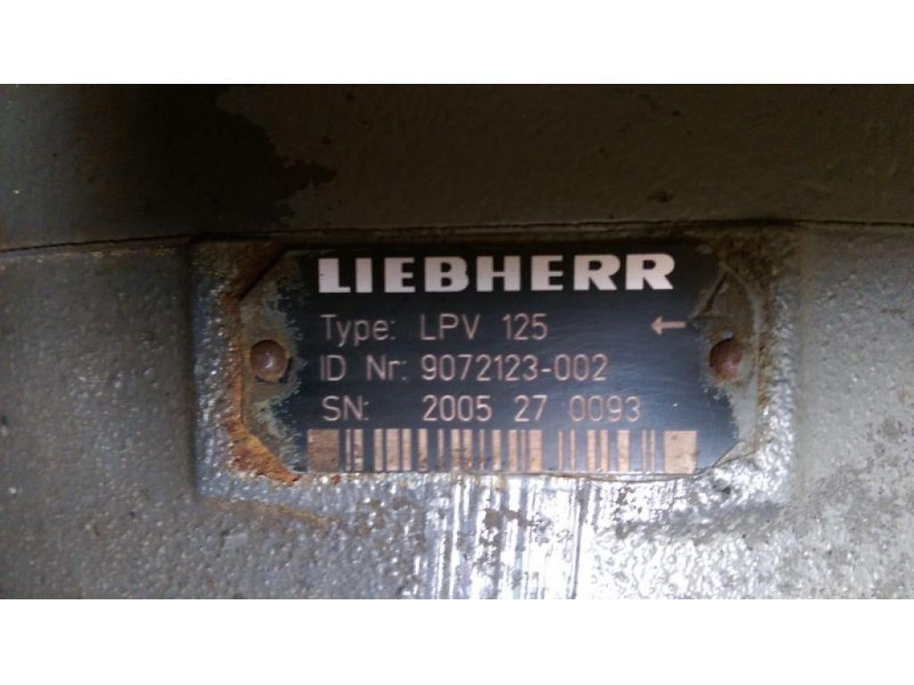 Liebherr LTM 1045-3.1 Hydraul system