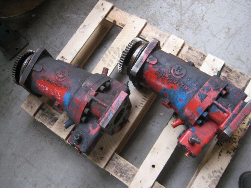 Krupp 70 GMT Sistema hidraulico