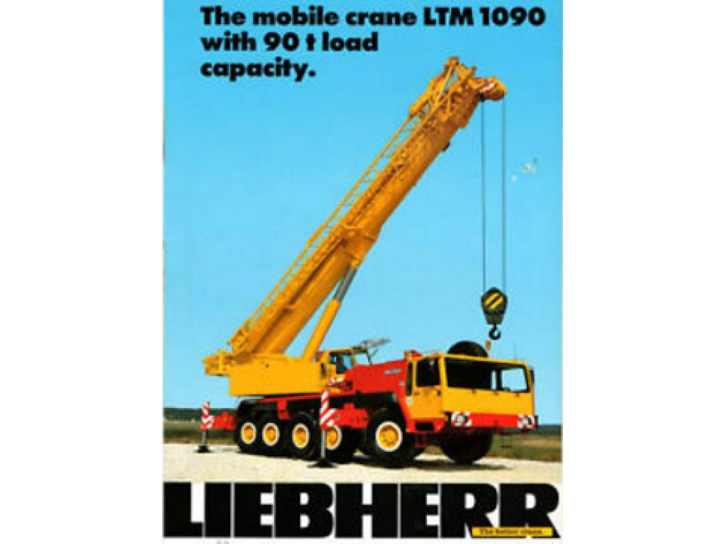 Liebherr LT 1090 Documentation