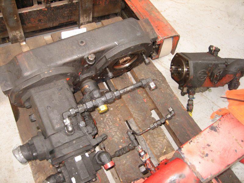 Krupp KMK 4070 Sistemi idraulici
