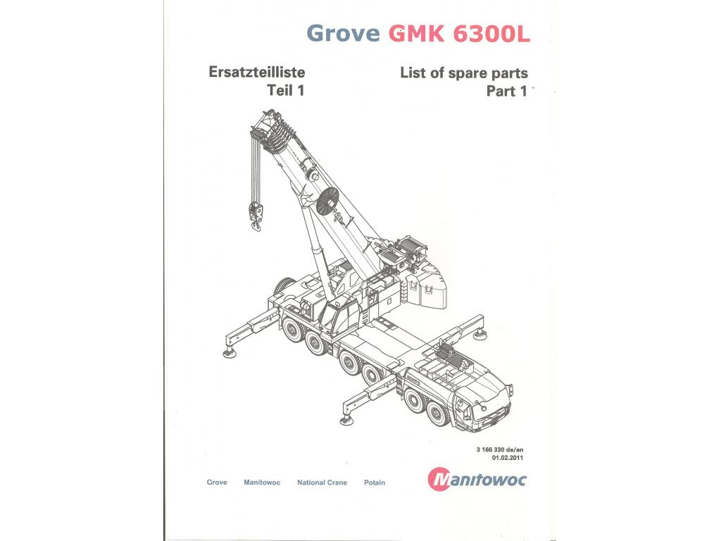 Grove GMK 6300 L Documentation