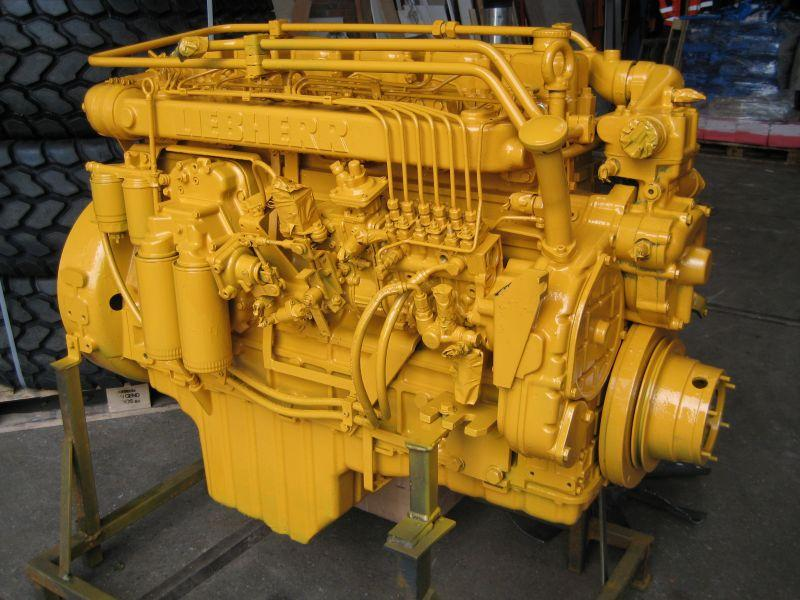 Liebherr D 916 T Engines