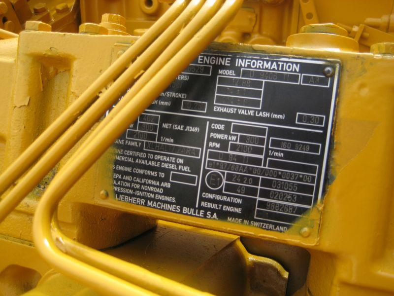 Liebherr D 9406 TI Engines