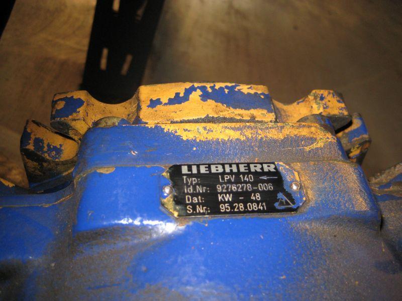 Liebherr LTM 1050-1 Sistemi idraulici