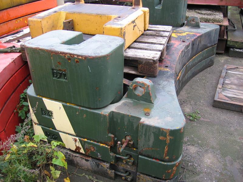 Krupp KMK 5110 Contrappeso