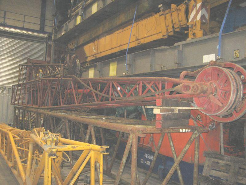 Demag TC 400 JIB's