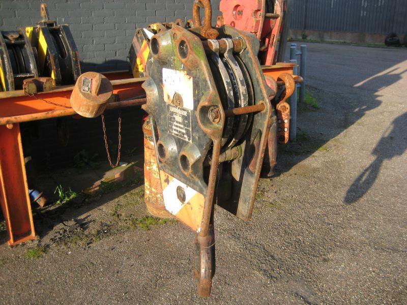 Liebherr 18 Ton άγκιστρο μπλοκ