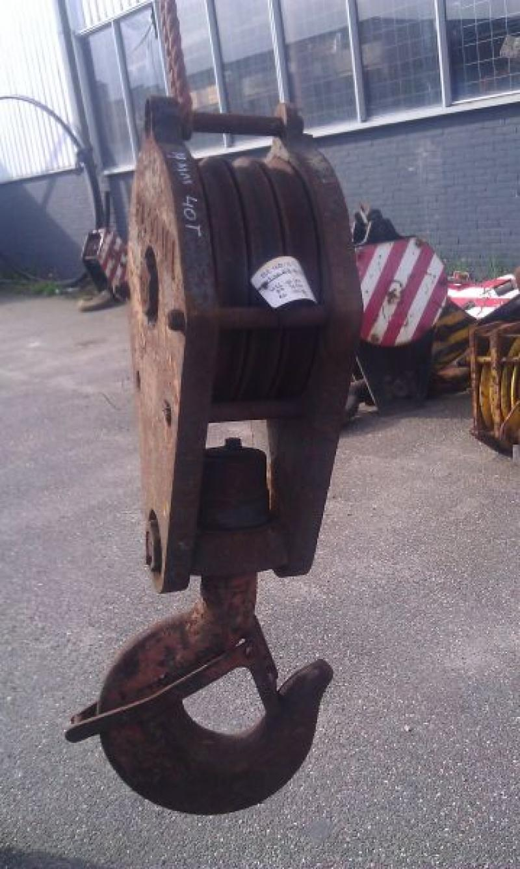 Hookblock 40 Ton Haken/Unterflasche