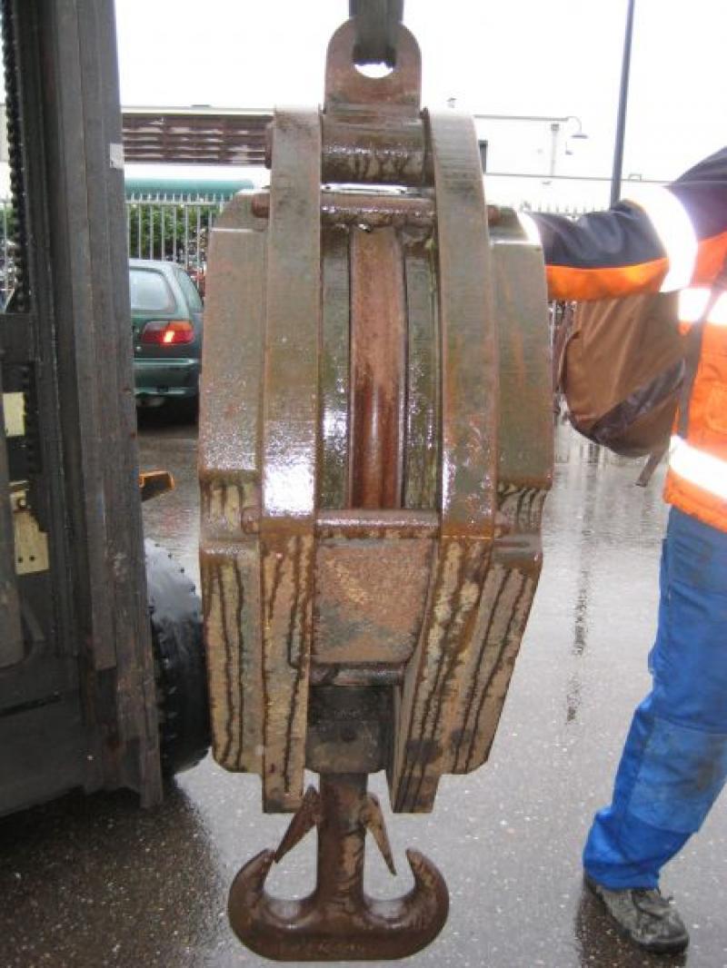 Hookblock 100 Ton άγκιστρο μπλοκ