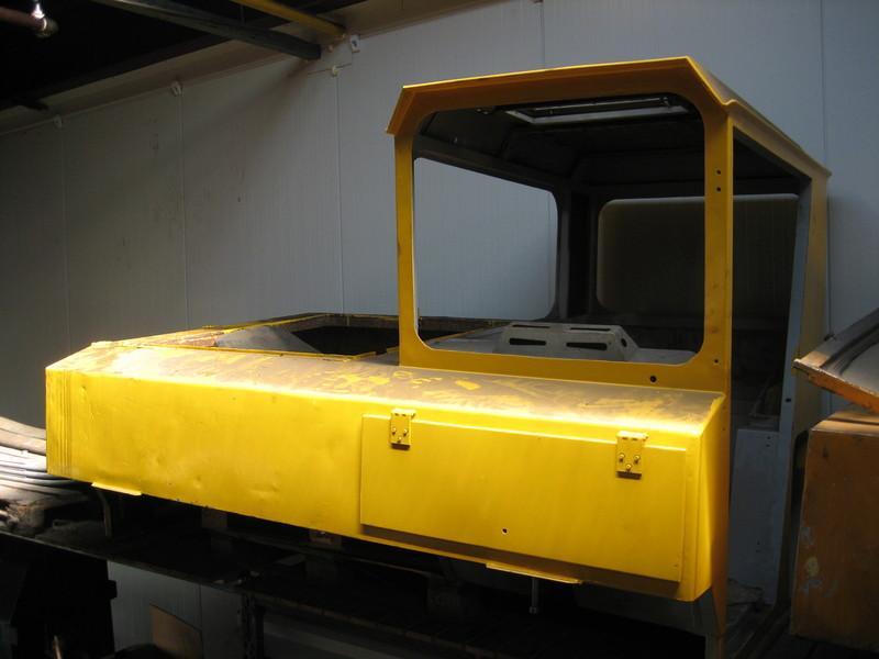 Faun RTF 30 Cabina
