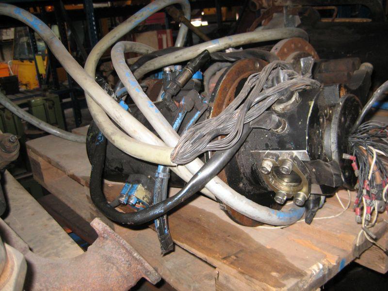 Krupp KMK 3050 Sistemi idraulici