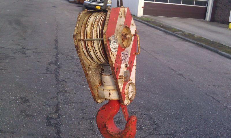 Hookblock 30 Ton άγκιστρο μπλοκ