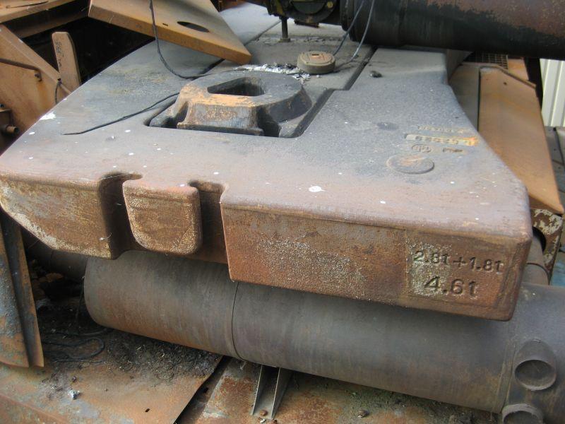 Liebherr LTM 1090-2 Contre poids