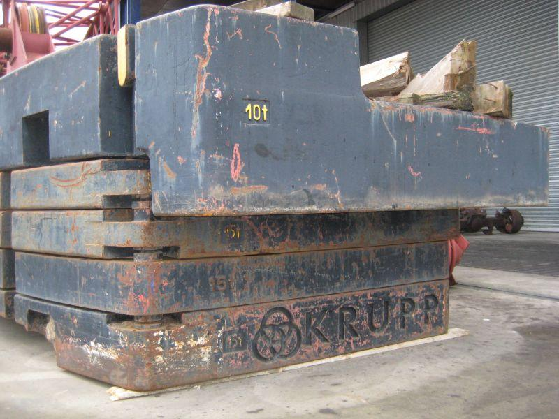 Krupp KMK 8350 Contrapesos