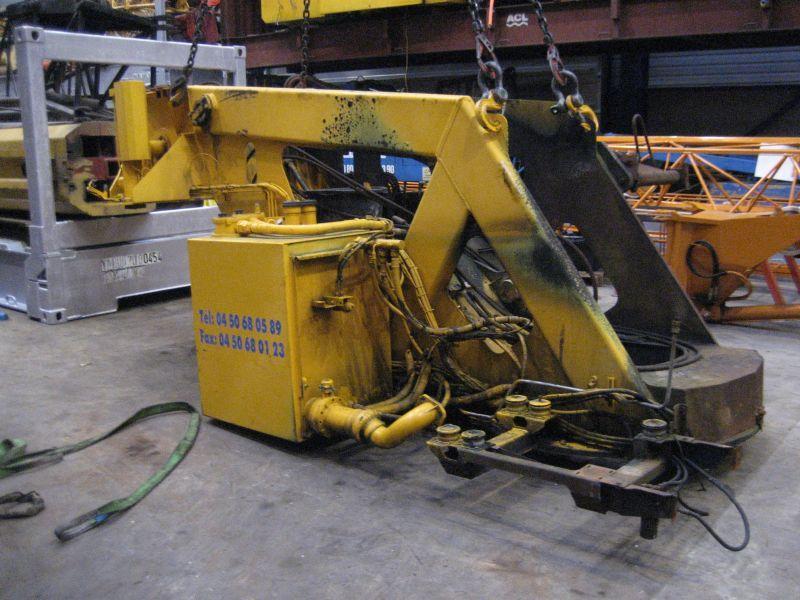Liebherr LTM 1090-2 μεγάλη κατασκευή
