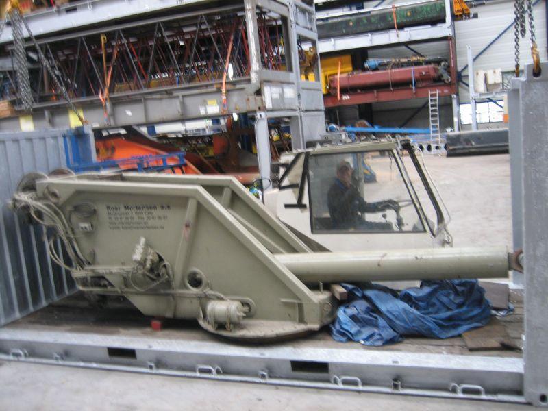 Liebherr LTM 1045 Sovrastruttura