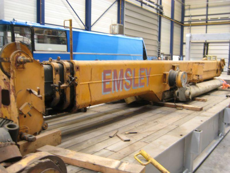 Krupp KMK 2025 Boom Sections