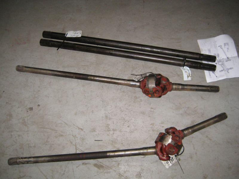 ZF 0501206988 Axel