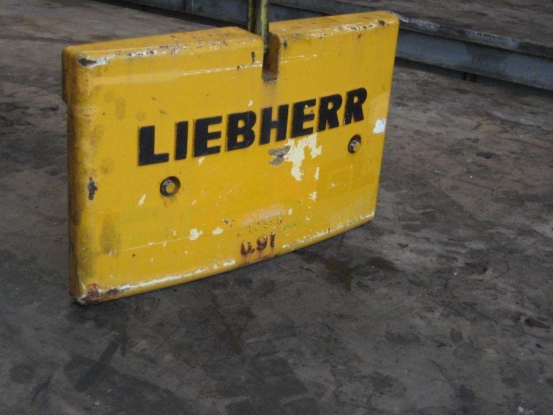 Liebherr LTM 1070 Contrapesos