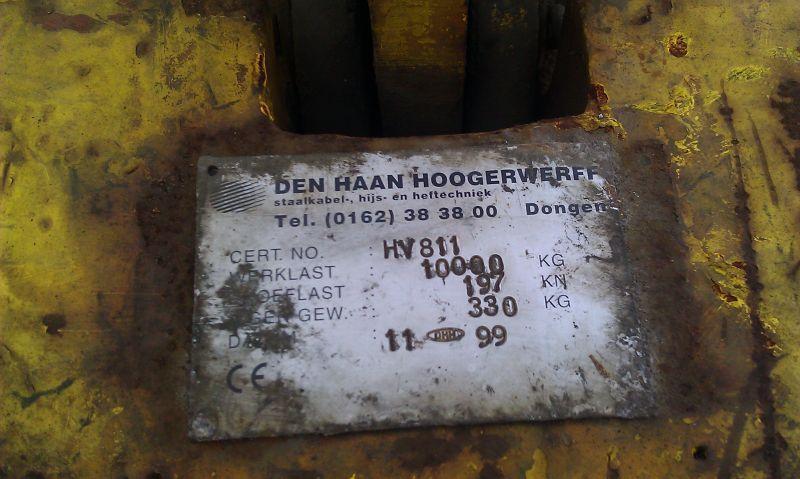 Hookblock 10 Ton horogszekrények