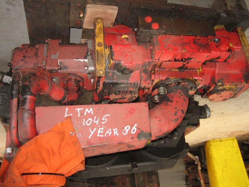 Liebherr LTM 1045 hidraulikus rendszer