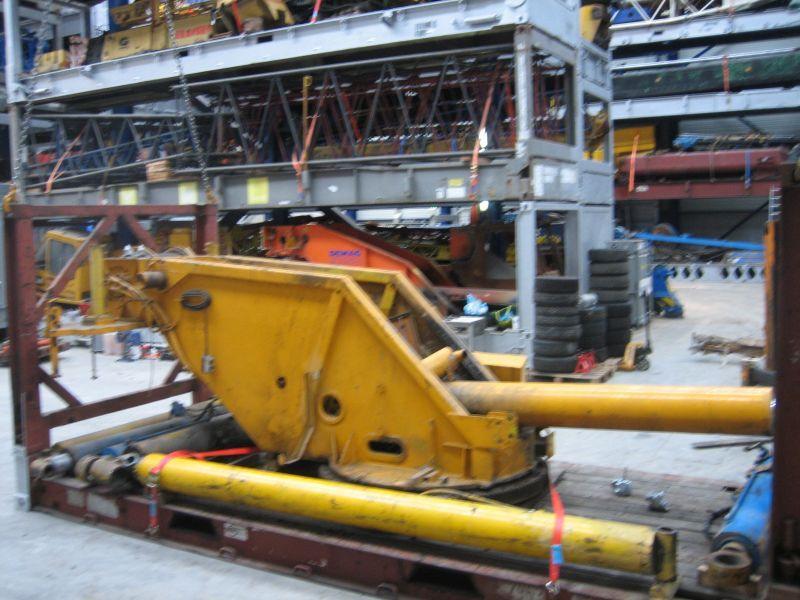 Liebherr LTM 1050 byggnationer