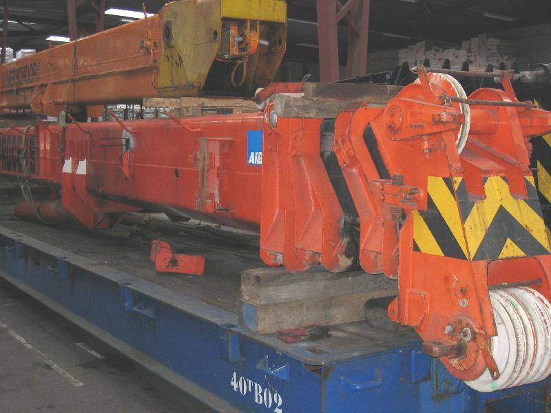 Krupp KMK 3045 τμήμα μπούμας