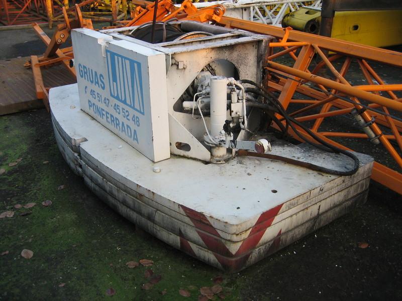 Liebherr LTM 1035-2 αντίβαρο