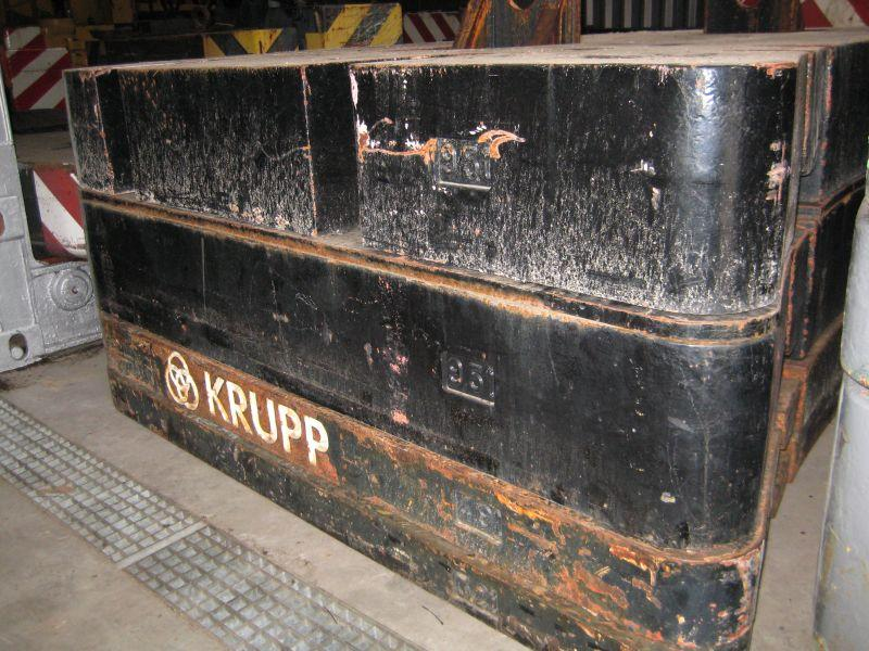 Krupp KMK 5160 Counterweight