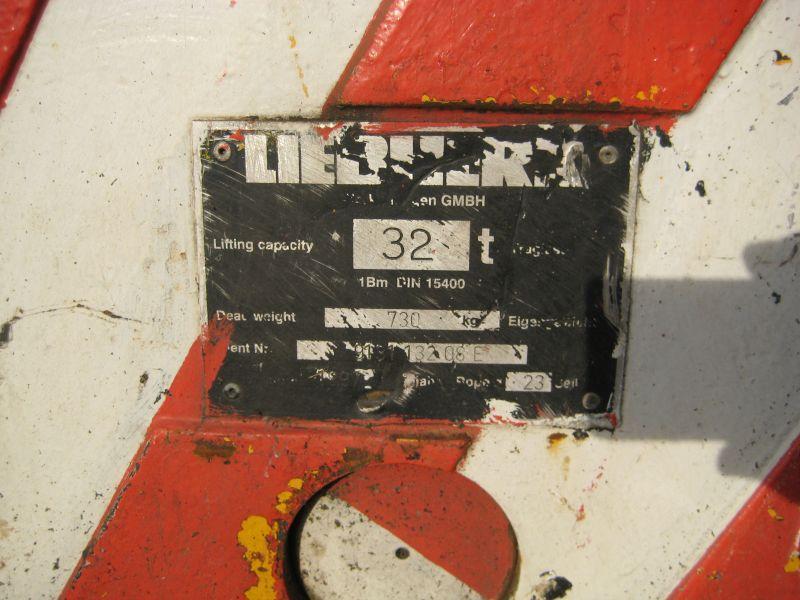 Liebherr 32 Ton Крюковая обойма