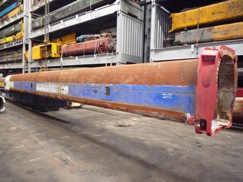 Grove GMK 5180 Section de fl�che