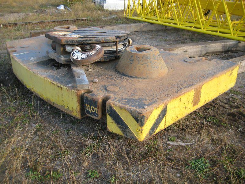 Liebherr LTM 1160-2 przeciwwaga / obcizniki