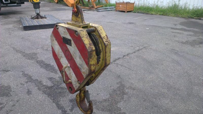Hookblock 12,5 Ton Haken/Unterflasche