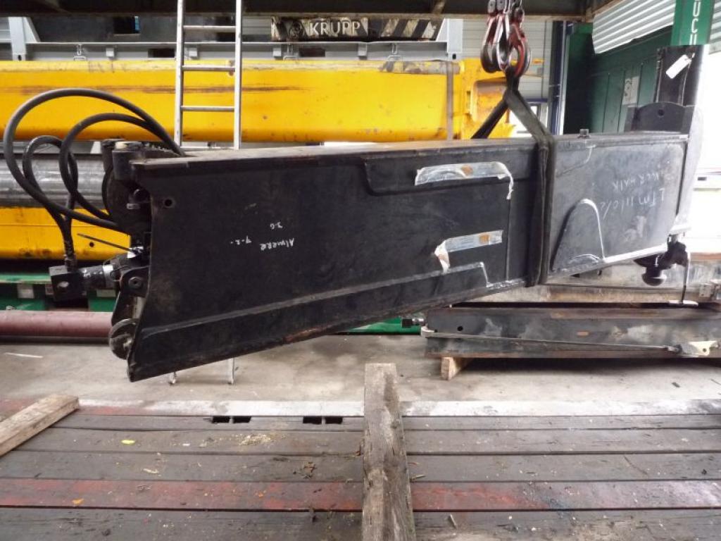 Liebherr LTM 1160-2 podpory tloków