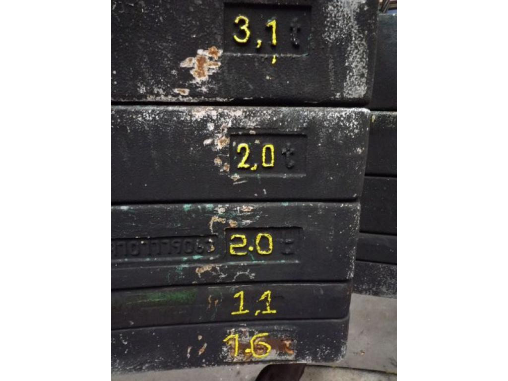 Faun ATF 60-3 Contrappeso