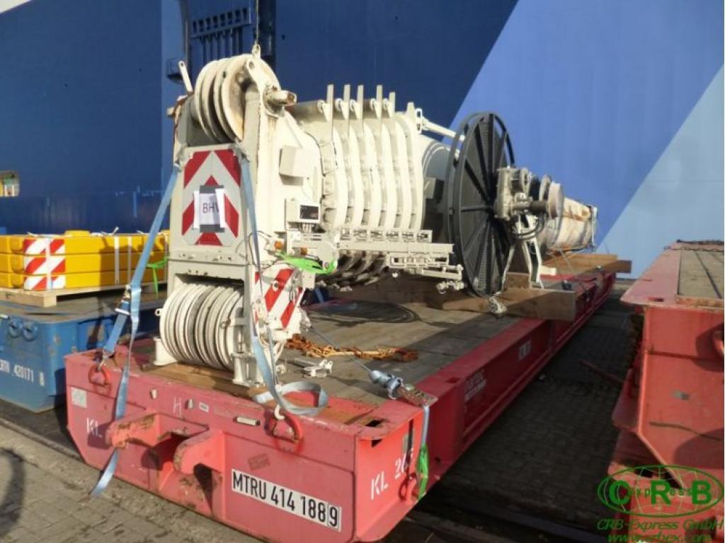 Liebherr LTM 1200-5.1 τμήμα μπούμας