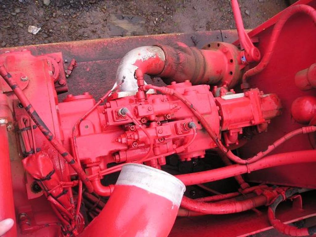 Liebherr LTM 1070 hidraulikus rendszer