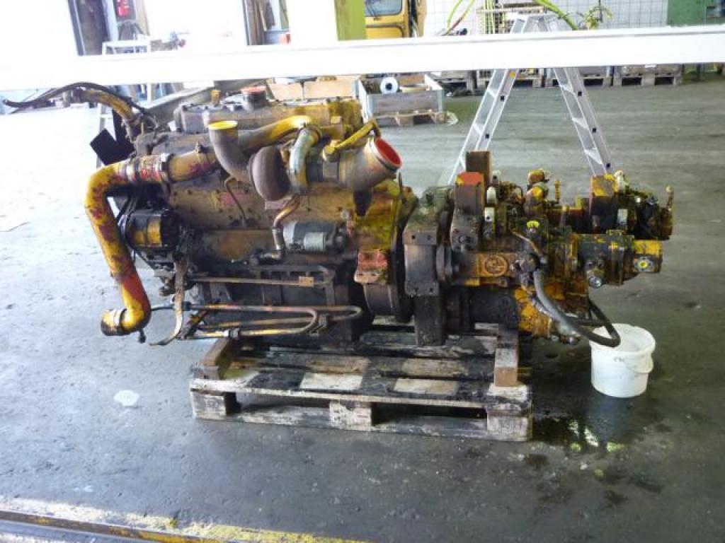Liebherr LTM 1140 Sistemi idraulici