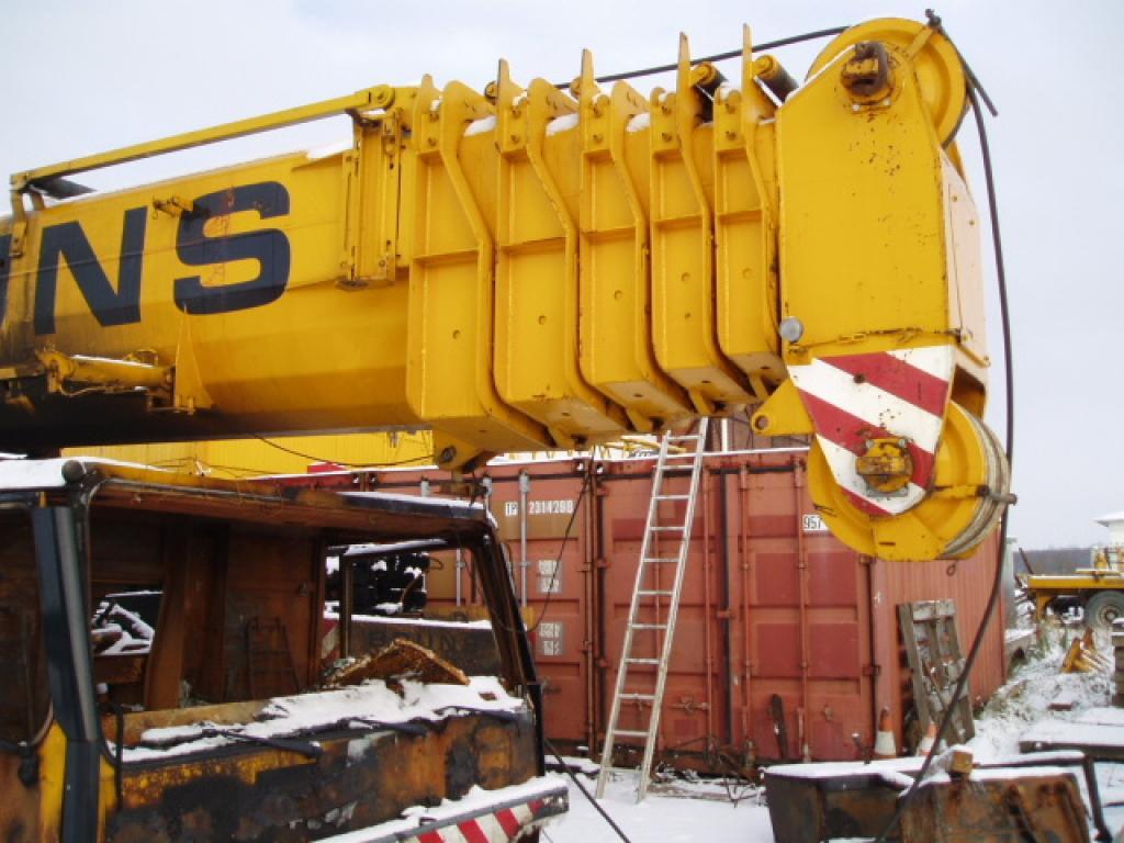 Liebherr LTM 1120 τμήμα μπούμας
