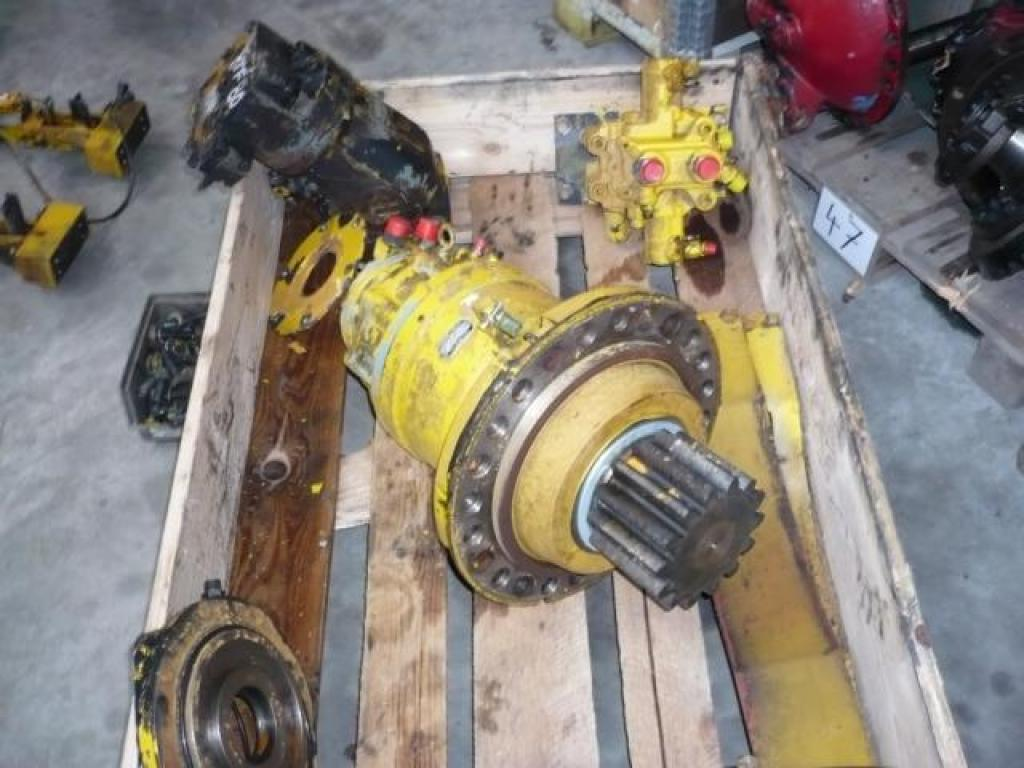 Faun RTF 80 Systemes hydraulique