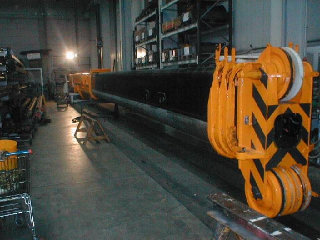 Faun ATF 110-5 τμήμα μπούμας