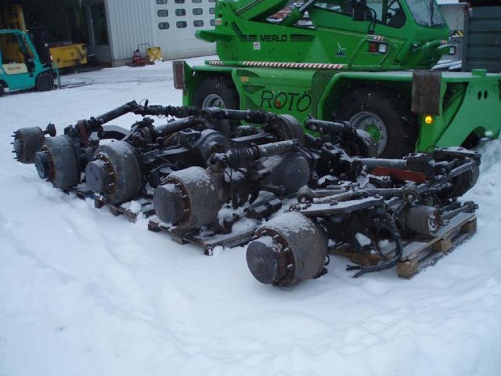 Faun ATF 110-5 Axles