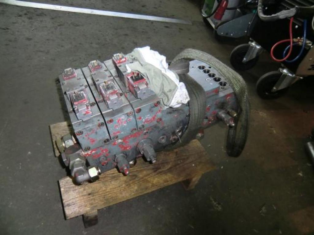 Krupp KMK 3045 Sistemi idraulici