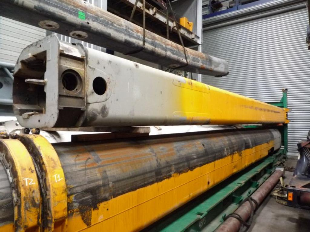 Liebherr LTM 1100-2 τμήμα μπούμας