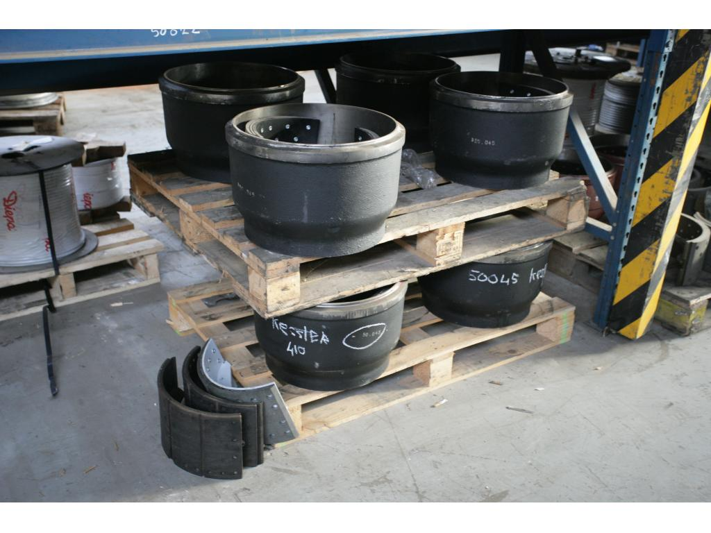 Kessler Demag Brake parts / Rims