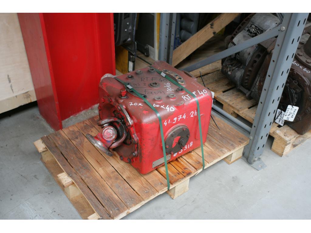 Faun RTF 40 Boite de transfert